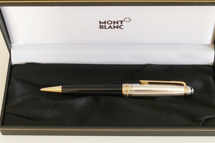 Montchrono Luxusuhren Montblanc 164 Doue Silver Kugelschreiber